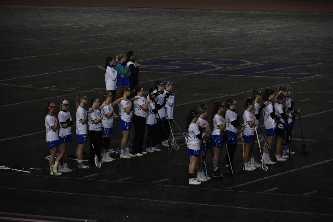Photo courtesy of South Lakes Women's Varsity Lacrosse team