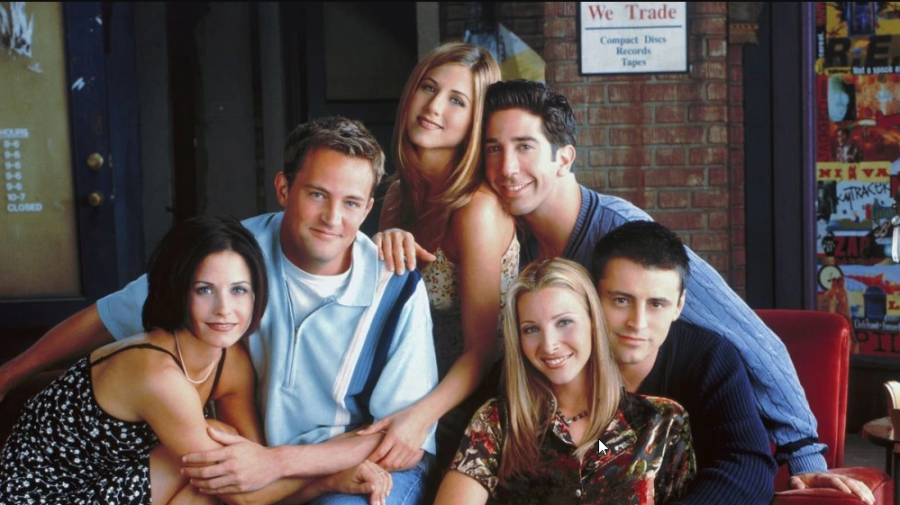 "Zodiac Signs as ""Friends"" Characters"