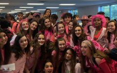 South Lakes Sophomores wear Pink in Preparation for Homecoming week 2019!