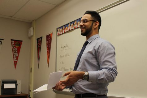 VA Delegate Ibraheem Samirah visits the South Lakes Young Democrats club: Protest, politics & progressive change