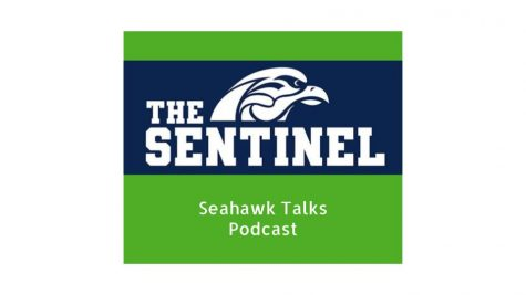 "Episode One of the Sentinel's podcast, ""Seahawk Talks"""