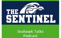 "Episode Eight of the Sentinel's podcast, ""Seahawk Talks"" -"