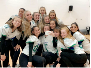 Seahawk Dance Team off to nationals!
