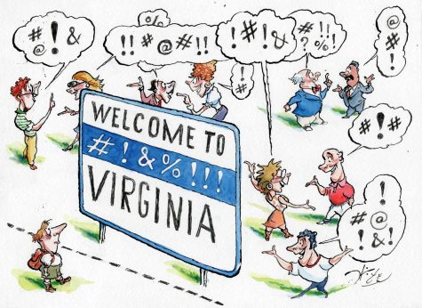 Illustration by Michael Witte, Living Virginia
