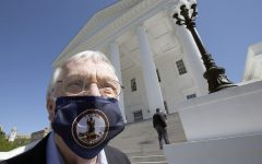 Fairfax County's Delegate Ken Plum, Image via Bob Brown/Richmond Times-Dispatch via AP