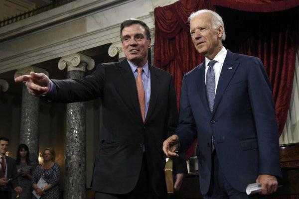 Sen. Warner & VP Biden in 2014