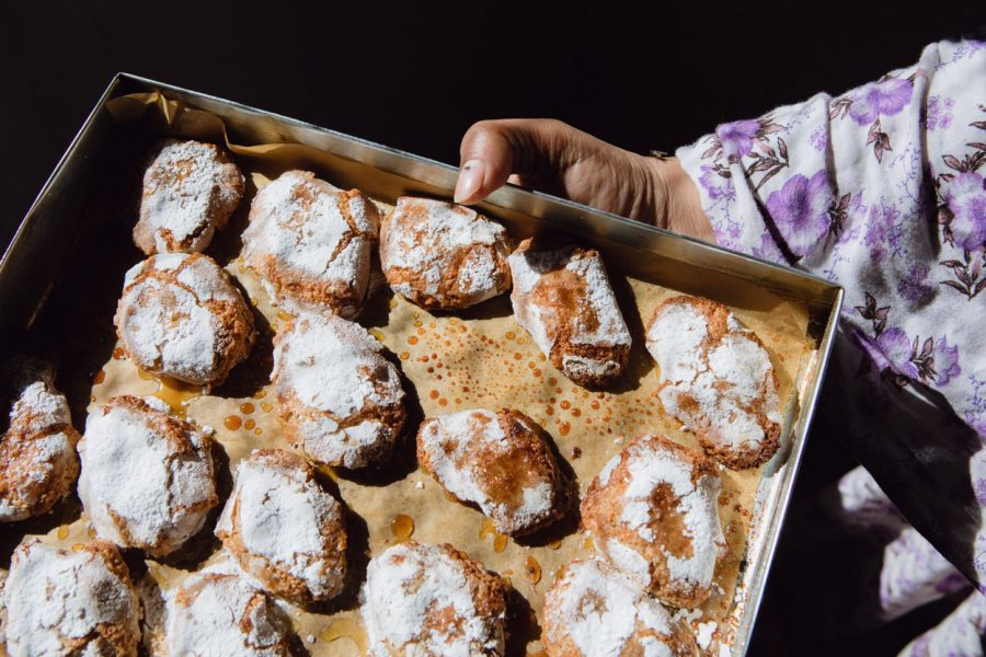 Sahrawi+Refugee+Camps+%28Algeria%29%2C+January+27%2C+2020+-+The+Ricciarelli+made+during+the+pastry+workshop+in+the+Wilaya+%28district%29+of+Awserd.+-+Image+via+Matteo+Mayada