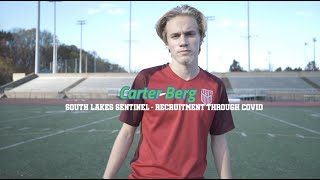 Soccer recruitment through COVID: Carter Berg