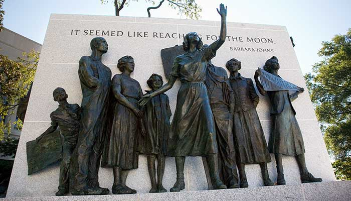 Virginia Civil Rights Memorial - Image via Virginia Is For Lovers